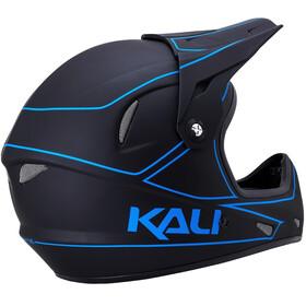 Kali Alpine Helm matt schwarz/blau